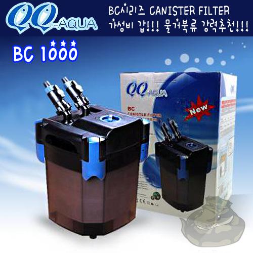 Qq Aqua 외부여과기 Bc 1000 마린렙타일